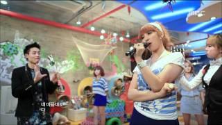4Minute - Heart to Heart, 포미닛 - 하트 투 하트, Music Core 20110514