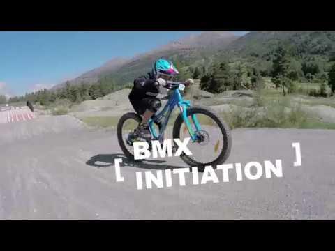 Stage de BMX au bike-park de Serre Chevalier