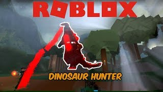 (Roblox Dinosaur Hunter) FIRE GODZILLA EST LIT!
