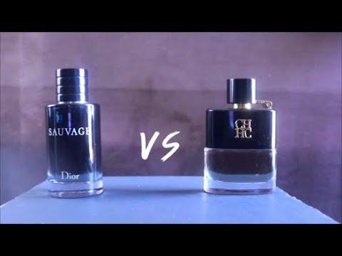 Dior Sauvage Vs Ch Prive (Carolina Herrera) 2018