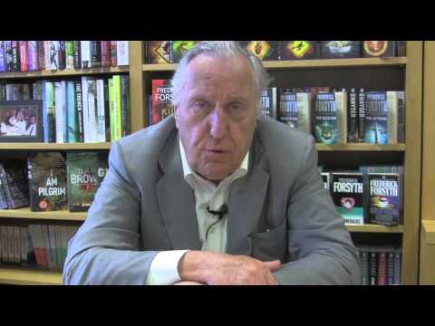 Frederick Forsyth on writing thrillers in the 21st Century