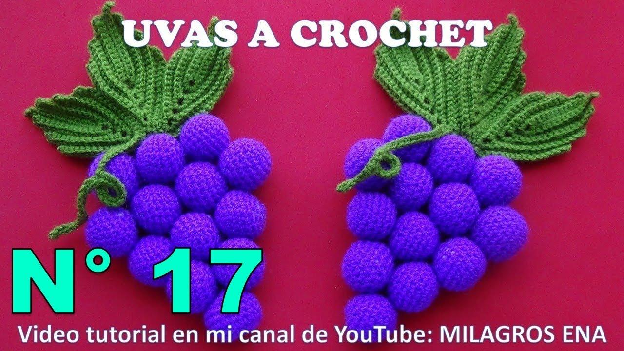 Uvas a crochet paso a paso para adorno de cocina en video for Manualidades para la cocina