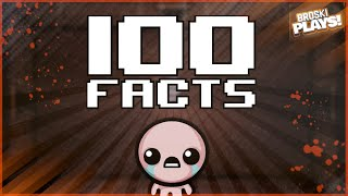 100 FACTS YOU DID (OR DID NOT) KNOW ABOUT THE BINDING OF ISAAC (The Binding of Isaac Trivia)