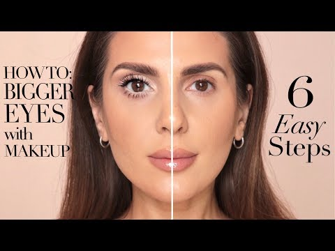 HOW TO MAKE YOUR EYES LOOK BIGGER IN 6 EASY STEPS   ALI ANDREEA