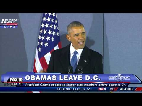 President Obama's FINAL Farewell Speech - Speaks...