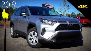 2019 Toyota RAV4 LE - Ultimate In-Depth look in 4K