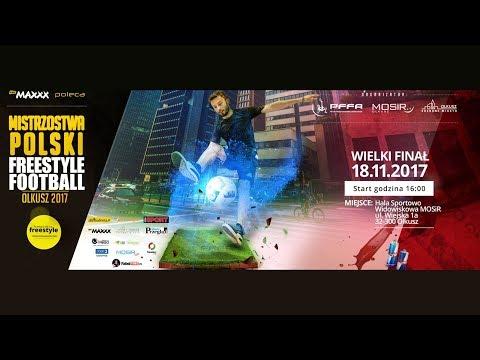 Mistrzostwa Polski Freestyle Football - Olkusz / FINAŁY [18.11.2017]