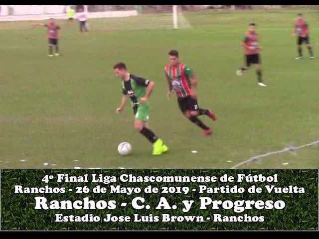 Atlético Ranchos Vs Progreso de Brandsen - 1° Tiempo