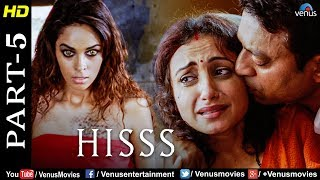 Hisss - Part 5| Mallika Sherawat & Irrfan Khan | Naagin | Bollywood Romance Thriller Movie Scene