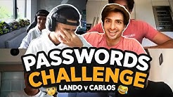 Carlos Sainz and Lando Norris play Passwords