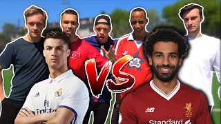 RONALDO vs SALAH TORE⚽CHALLENGE | BROTATOS