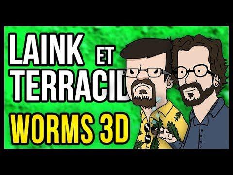 LA GRANDE GUERRE DES YOUTUBERS (Worms 3D)