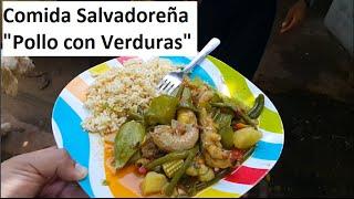 Cocinando con Gladis La Sirenita Recetas Salvadoreñas: Pollo con Verduras Parte 3/3 thumbnail