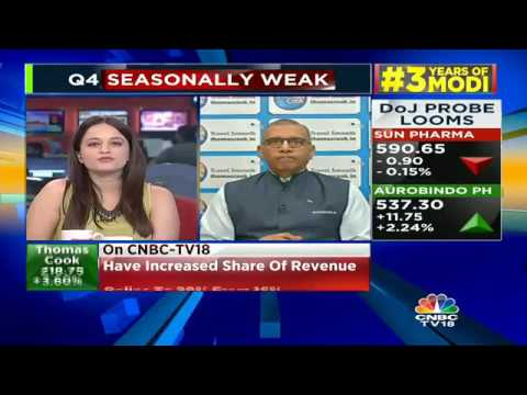 Expect Growth Rate To Continue Going Forward: Thomas Cook