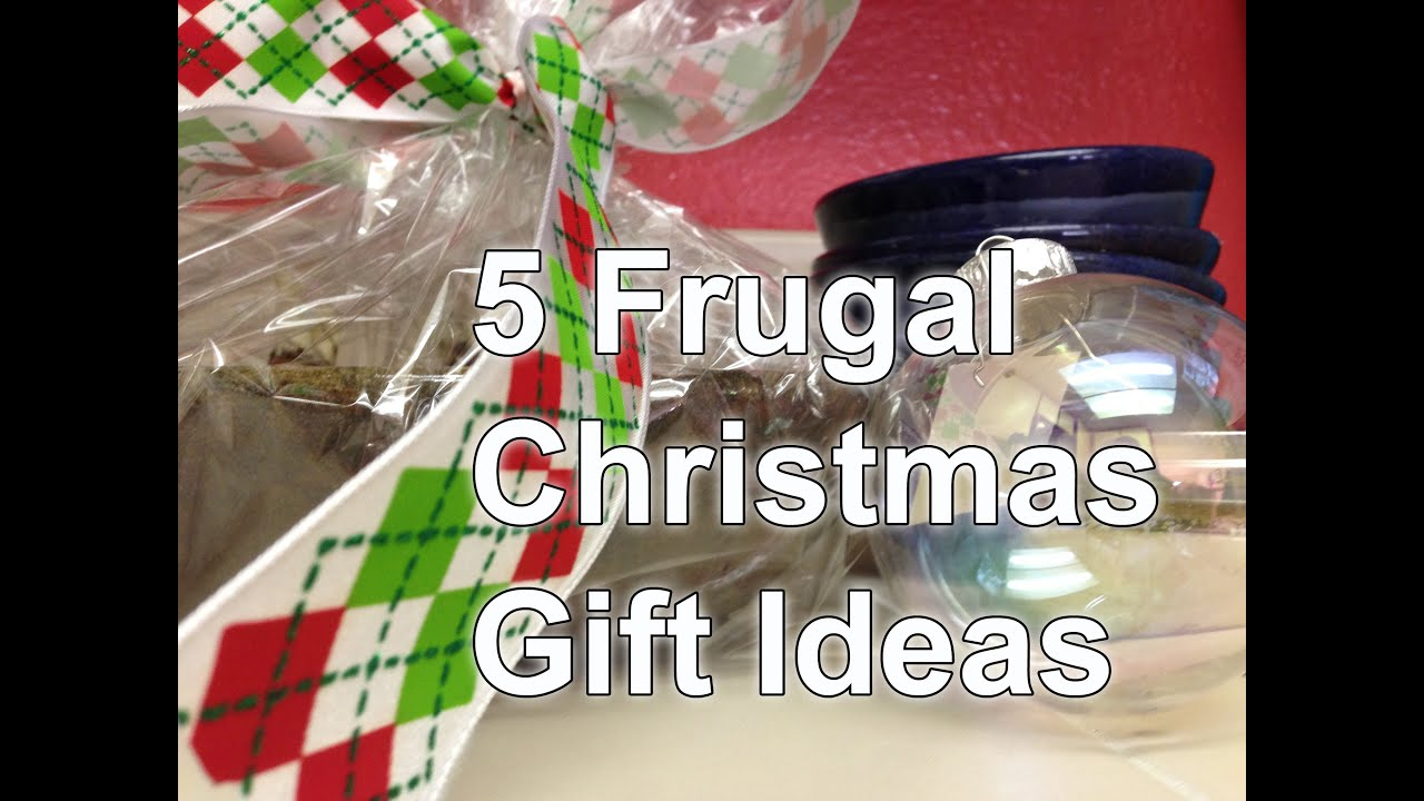 5 Inexpensive Christmas Gift Ideas - Frugal Living - YouTube