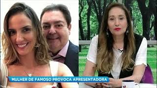 Mulher do Faustão diz que vai arrumar pretendentes para Sônia Abrão e irrita apresentadora