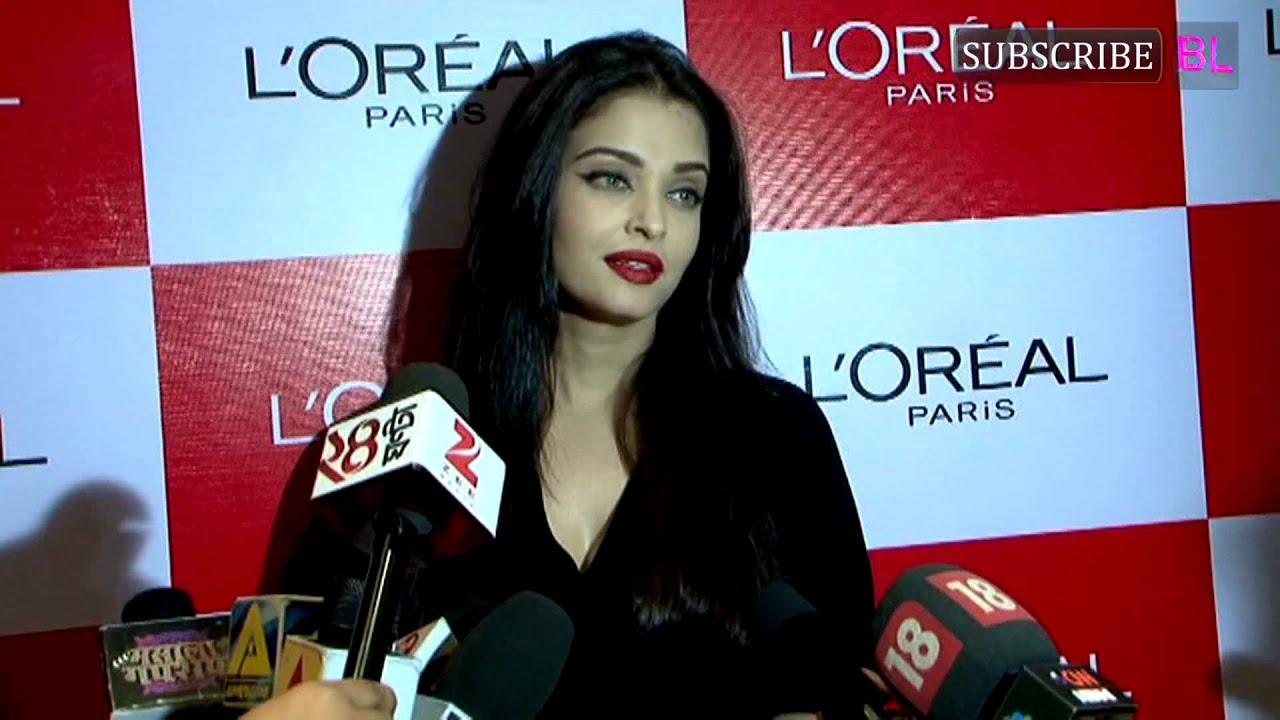 Aishwarya Rai Bachchan launches a new red shade of ...