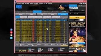 888Poker Review: Free poker tournaments and good cash bonus.