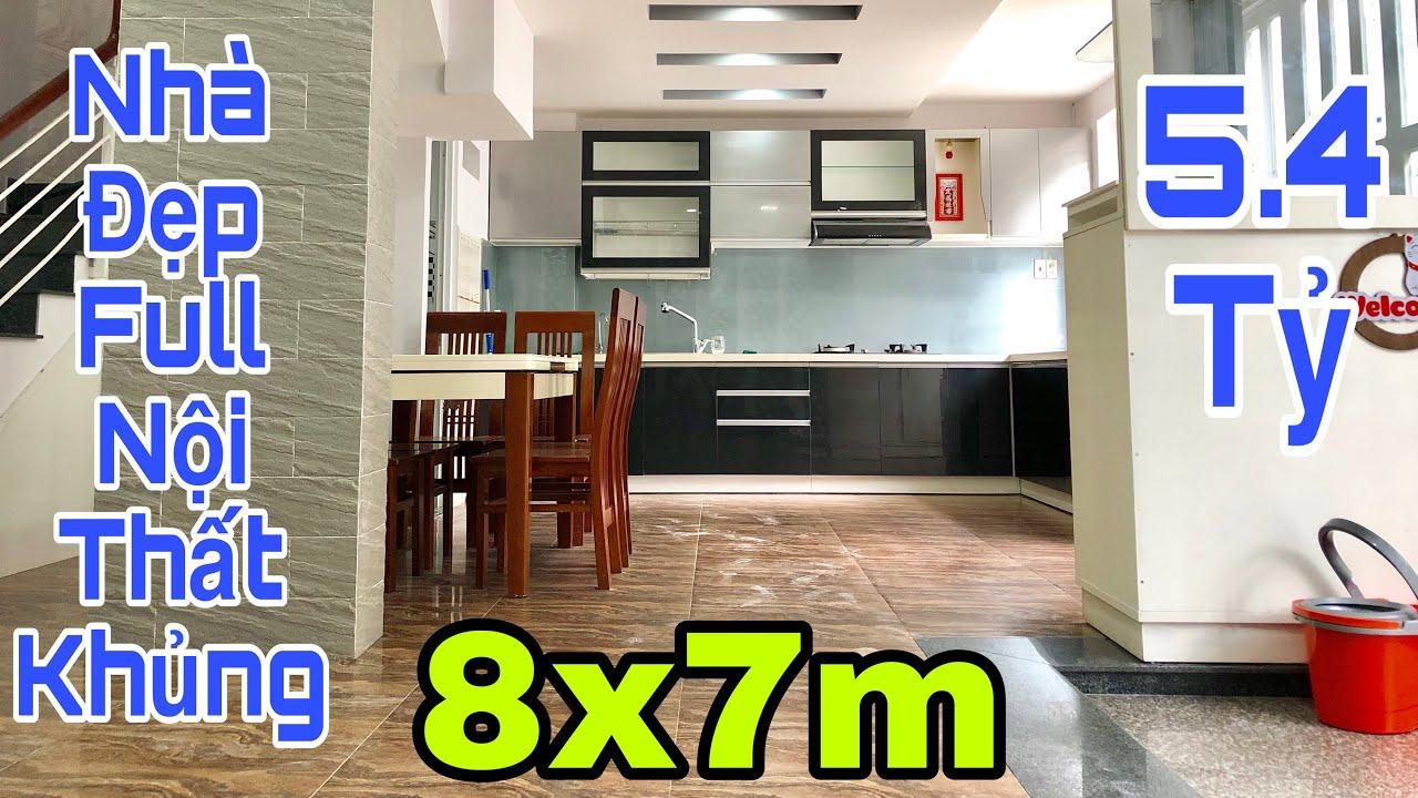 Bán nhà Gò Vấp|Nhà đẹp 8x7m cực rộng rãi và thoáng được tặng full nội thất khủng
