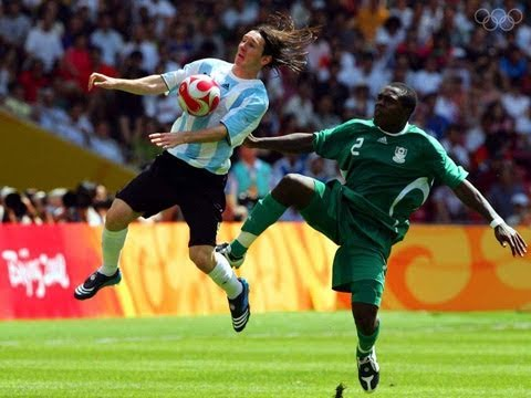 Lionel Messi led Argentina to gold in Beijing