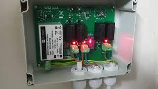 H-Tronic MPC1000 Umschaltstation für Solaranlage 230V 16A Netz Solar Strom