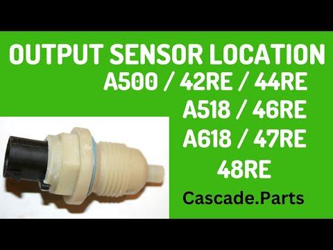 Dodge / Jeep Output Speed Sensor Info