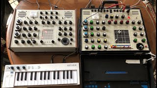 Erica Syntrx vs Synthi AKS (Part One)