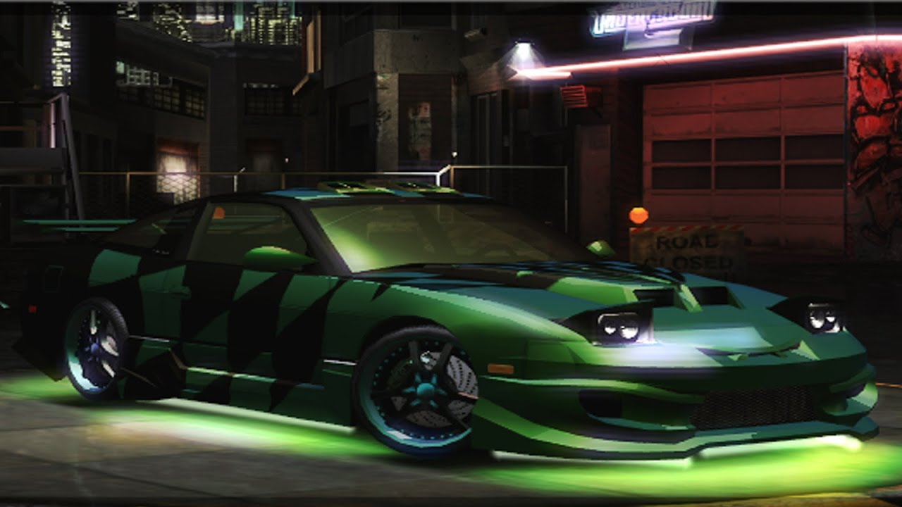 Need for Speed: Underground 2 - Nissan 240SX - Customize Car ...
