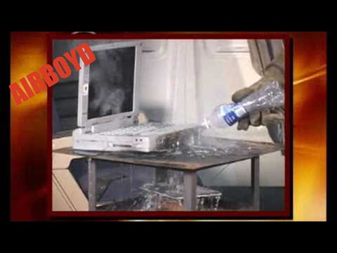 Extinguishing In-Flight Laptop Computer Fires - Lithium Battery Thermal Runway