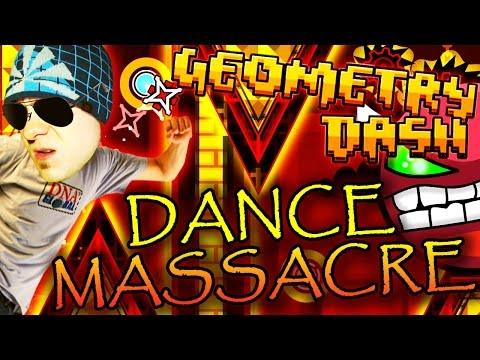Geometry Dash   DANCE MASSACRE by Hinds ~ CRAZY BALLS
