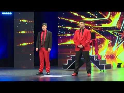 Show Duet Amsterdam - Azerbaijan's Got Talent (Giorgi Bagushvili & David Robakidze)