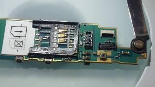 Ремонт симлотка на телефоне Sony Xperia sola MT27i