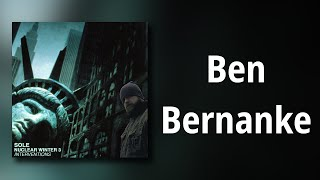 sole // Ben Bernanke