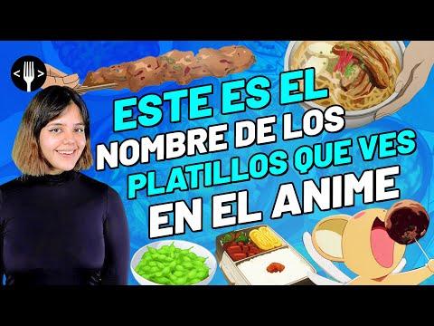 Así se llama la comida que ves en el anime | Olimpleyers
