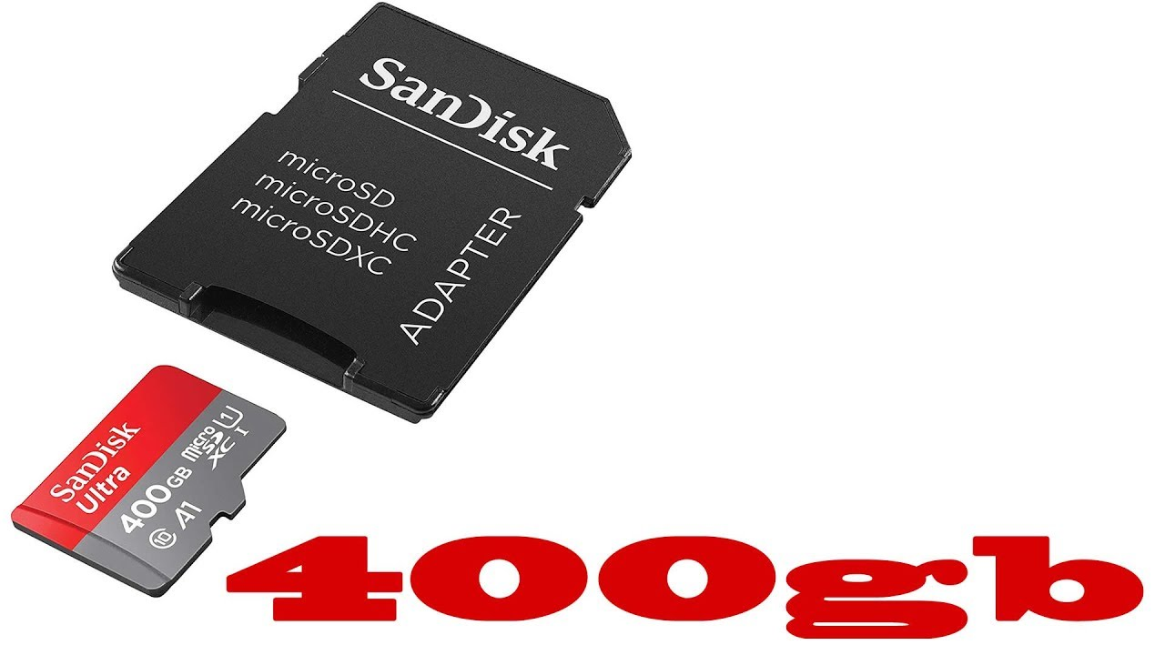 Micro Sd Karte 128gb Test.First Look Test Sandisk Ultra 400gb Micro Sd Card