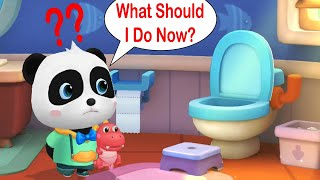 Little Panda's Daily Good Habits - Let's Develop Good and Hygiene Habits With Kiki - Babybus Games