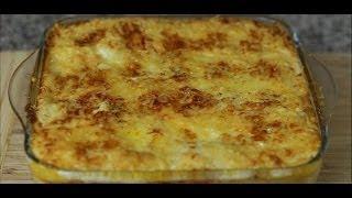 Receta : Lasaña Con Pasta Fresca (lasagna, Con Jamón Y Queso)