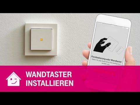 Social Media Post: Wandtaster und 4-Tastenfernbedienung nutzen | Telekom Magenta...