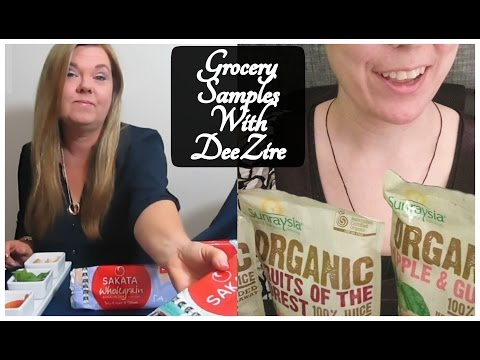 🍅 ASMR Grocery Samples Role Play 🍶 (Collaboration with DeeZire ASMR)   ☀365 Days of ASMR☀