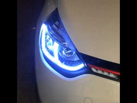 Clio 4 Led farlar - YouTube