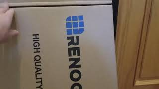 Renogy Solar Panel Packaging