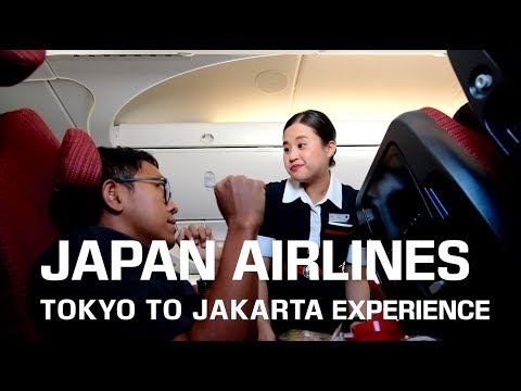 TOKYO TO JAKARTA! JAPAN AIRLINES ECONOMY CLASS BOEING 787 EXPERIENCE