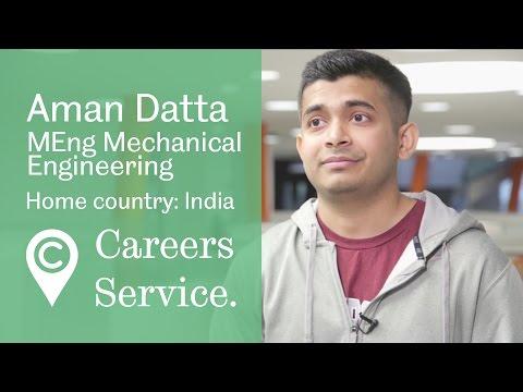 Aman Datta MEng Mechanical Engineering, Rolls Royce PLC