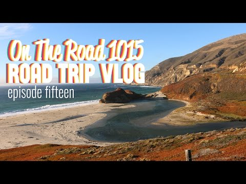 Road Trip Vlog // Artichoke Farm &  Big Sur