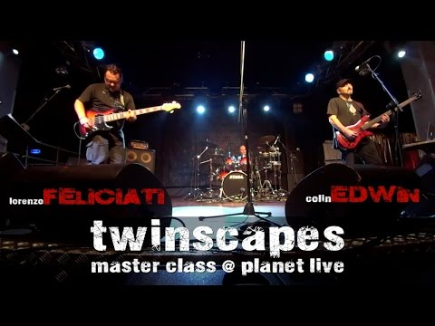 Twinscapes - master class @ Planet Live 2014