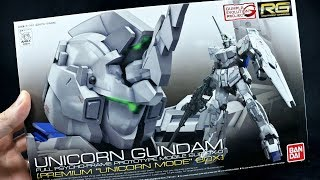 Here's the Real-Grade 1/144 scale RX-0 Unicorn Gundam. The RG that ...