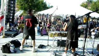 Latin Essence Band Tracy Bean Fest 9.11.10  No One To Depend On