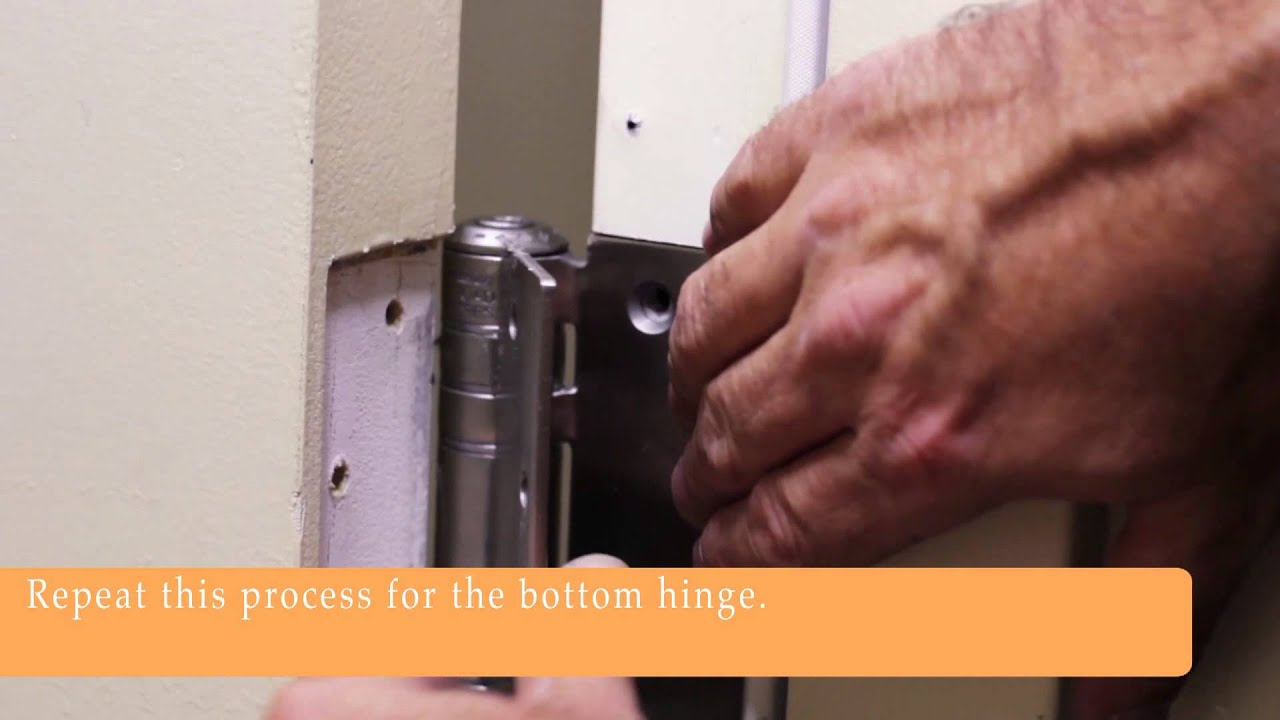 Waterson \ Quiet Close\  Hinges - Installation - Hotel Guest Room Experience & Waterson \