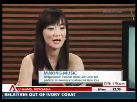 Siow Lee Chin interviewed on Channelnews Asia during her Asian tour in January 2011