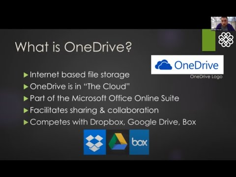 Getting Started with OneDrive at Berkshire Community College - Zoom recording